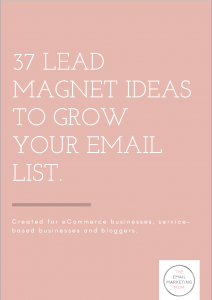 37 Lead Magnet Ideas To Grow Your Email List
