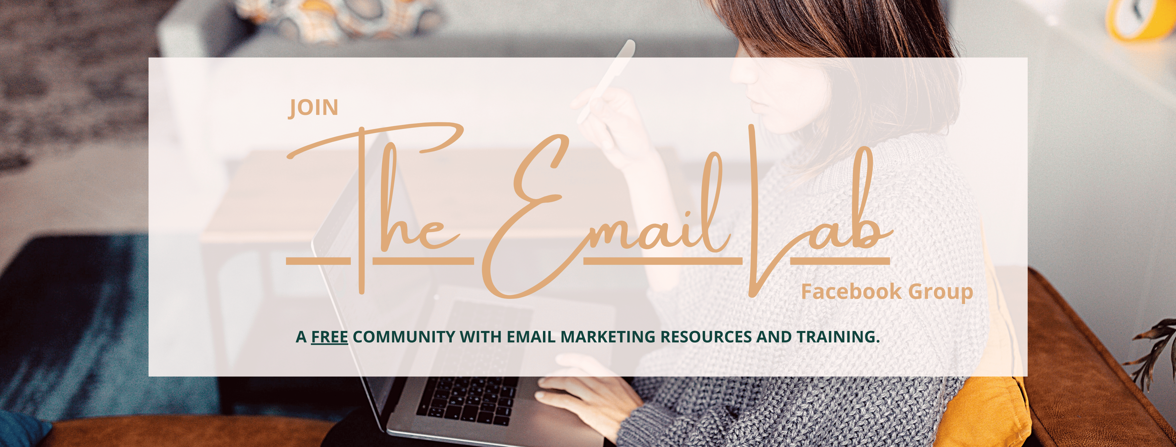 Join The Email Lab Facebook group