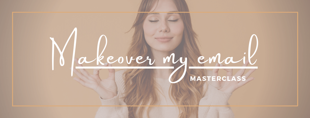 Email makeovers masterclass